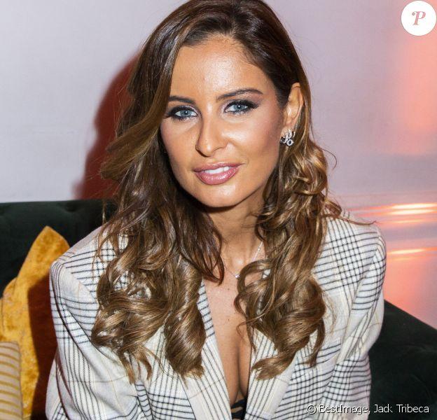 Malika Ménard (Miss France 2010) lors du lancement de l'émission de téléréalité Love Island présentée par Nabilla Benattia sur Amazon Prime à Paris, France. © Jack Tribeca/Bestimage