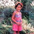 Malika Ménard à 5 ans. Photo publiée en juin 2014.