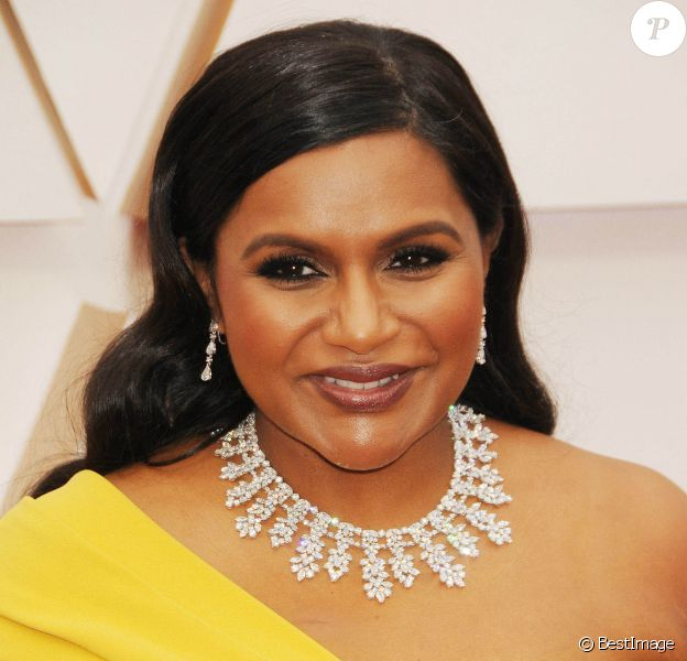 Mindy Kaling - Photocall des arrivées de la 92ème cérémonie des Oscars au Hollywood and Highland à Los Angeles