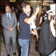 David Duchovny arrive au Jimmy Kimmel Show à Los Angeles le 22 septembre 2009