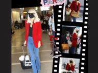 Laeticia Hallyday à Paris avec ses filles : nouvelle coupe pour un grand retour