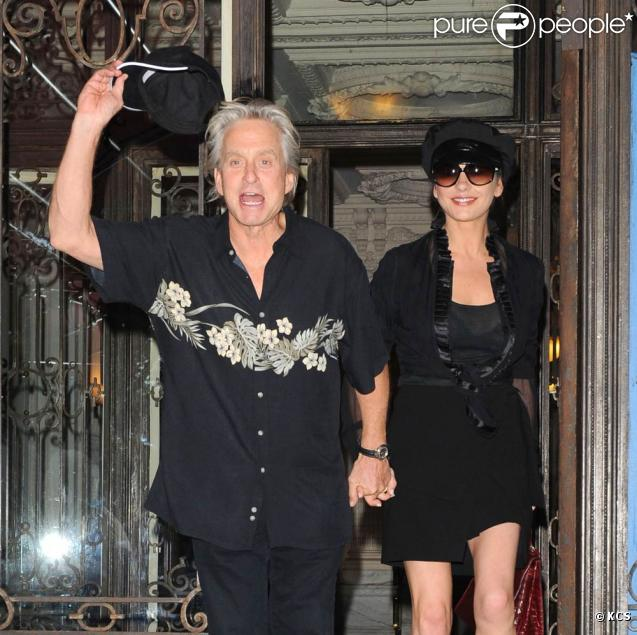 Catherine Zeta-Jones et Michael Douglas