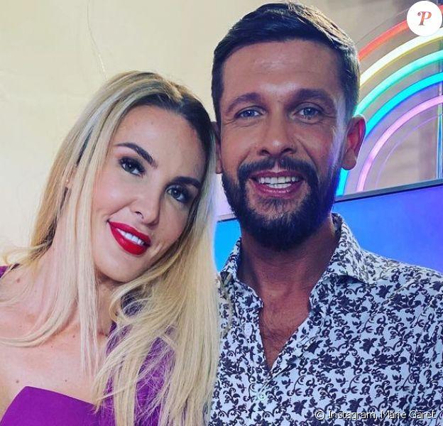 Marie Garet et son compagnon Dorian sur Instagram.