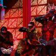 """L'Araignée dans """"Mask Singer 2020"""", le 24 octobre 2020, sur TF1"""
