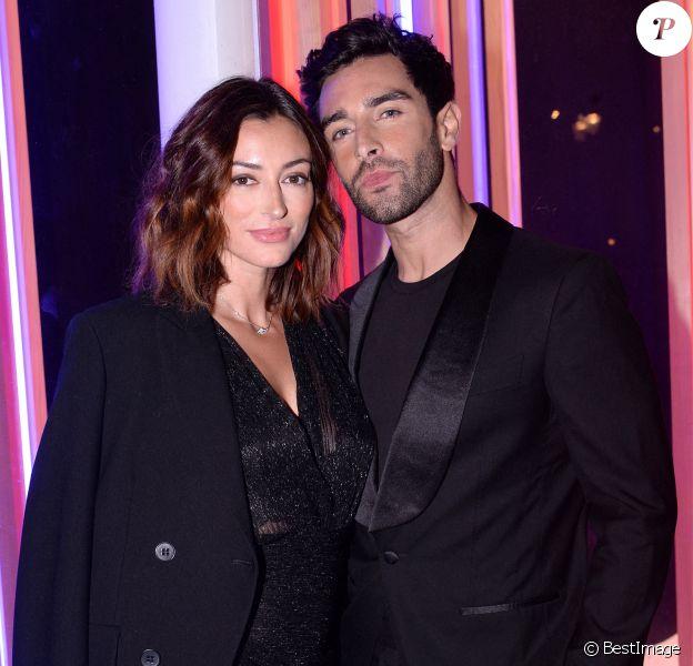 Exclusif - Valentin Léonard et Rachel Legrain-Trapani - Photocall en marge du défilé Etam Live Show. © Pool Agence Bestimage