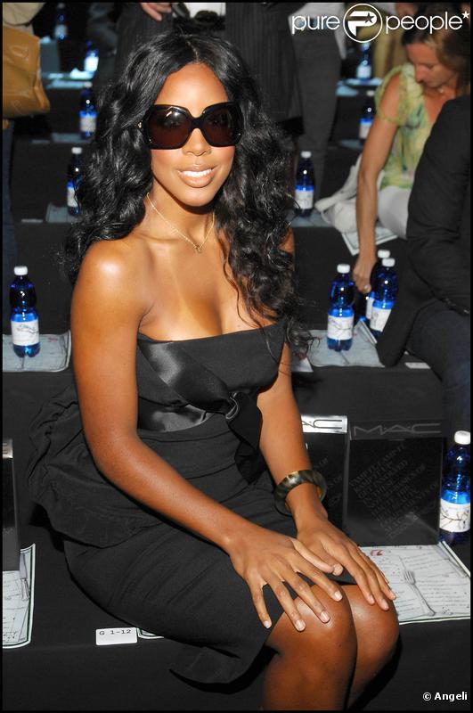 Kelly Rowland au défilé Dsquared à Milan, le 28 septembre 2009