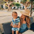 Caroline Receveur et son fils Marlon sur Instagram.