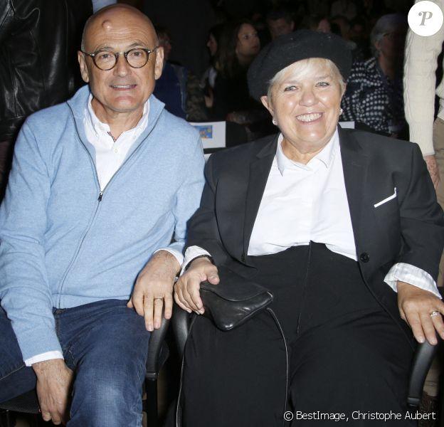 Mimie Mathy et son mari Benoist Gérard - Soirée de clôture du 22e Festival des créations télévisuelles de Luchon. © Christophe Aubert via Bestimage