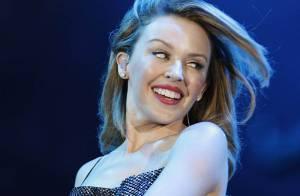 Kylie Minogue nous envoie les premières images des coulisses de sa tournée...