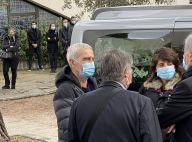 Estelle Denis et Raymond Domenech : Couple attristé aux obsèques de Bruno Martini