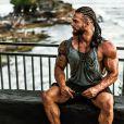 """Anthony Amar de """"Koh-Lanta"""" pose à Bali, mars 2020"""