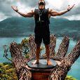 """Anthony Amar de """"Koh-Lanta"""" apaisé à Bali, le 25 janvier 2020"""