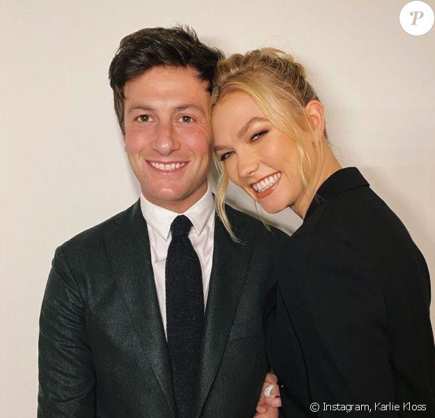 Karlie Kloss et son mari Joshua Kushner, le beau-frère d'Ivanka Trump.