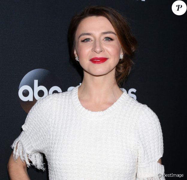 Caterina Scorsone - Les acteurs de 'Greys Anatomy' réunis pour fêter la diffusion du 300ème épisode de la série au restaurant TAO à Hollywood.