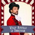 """Willy Rovelli est le directeur de """"Boyard Land"""". La saison 2 de l'émission a commencé samedi 7 novembre 2020 sur France 2."""