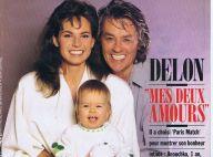 """Alain Delon et Rosalie van Breemen : Retour sur leur histoire """"plus que mouvementée"""""""