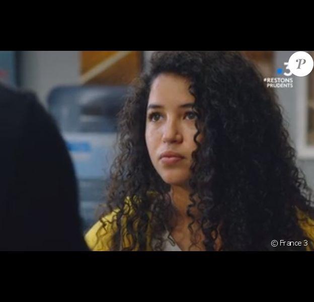"""Malika Alaoui joue Mila dans la série """"Plus belle la vie"""", sur France 3."""