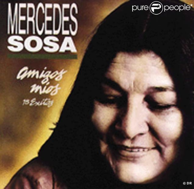 Mercedes sosa est morte le 4 octobre 2009 à Buenos Aires.