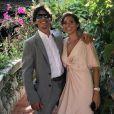 Vince Reffet et son épouse Agnes Rodriguez.
