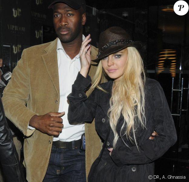 Lindsay Lohan arrive au VIP Room samedi 3 octobre