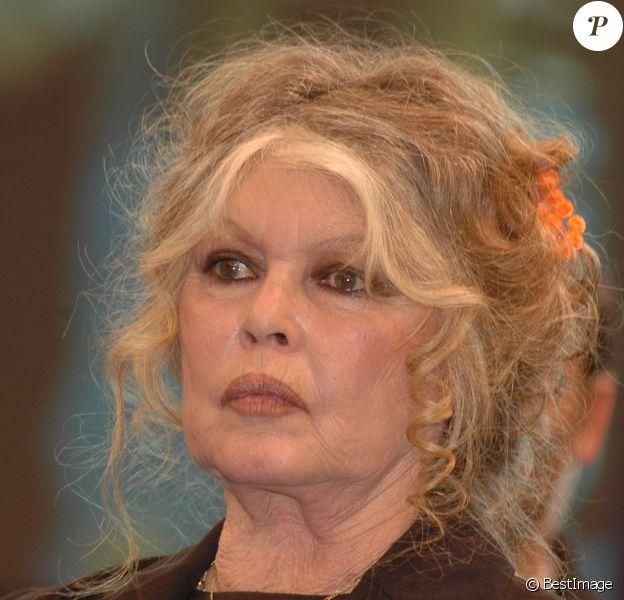 Brigitte Bardot à Paris.