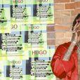 """Wiz Khalifa au défilé """"Hugo Boss"""" lors de la Mercedes-Benz Fashion Week de Berlin, le 5 juillet 2018."""