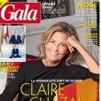 """Couverture du magazine """"Gala"""" du 26 novembre avec Claire Chazal"""