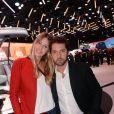 Exclusif - Frédéric Diefenthal et sa compagne Stéphanie - Soirée Renault à l'occasion de l'ouverture de la 120ème édition du Mondial de l'Automobile 2018 au Paris Expo Porte de Versailles à Paris le 2 octobre 2018. © Rachid Bellak/Bestimage