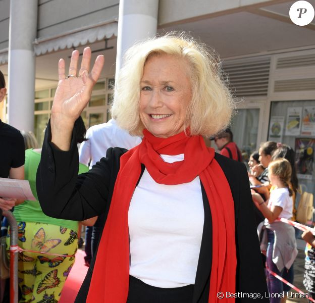 Exclusif - Brigitte Fossey (invitée d'honneur du Festival de Beausoleil) - 8e saison des Héros de la TV à Beausoleil. © Lionel Urman/Bestimage