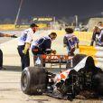 Accident de Romain Grosjean lors du Grand Prix de Formule 1 de Bahrein à Sakhir. Le 29 novembre 2020 © DPPI / Panoramic / Bestimage
