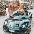 Jessica Thivenin avec son fil Maylone (1 an) sur Instagram