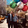 Le prince Philippos de Grèce et son épouse Nina Flohr, sur Instagram, février 2020.