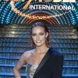 Maëva Coucke (Miss France 2018) lors de la soirée de la grande finale du concours Top Model International au Lido à Paris, France, le 19 janvir 2020. © Pierre Perrusseau/Bestimage
