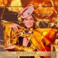 Miss Bourgogne   :   Lou-Anne Lorphelin   lors du dernier défilé des 5 finalistes de Miss France 2021 le 19 décembre sur TF1