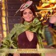 Miss Côte d'Azur   :   Lara Gautier   lors du dernier défilé des 5 finalistes de Miss France 2021 le 19 décembre sur TF1