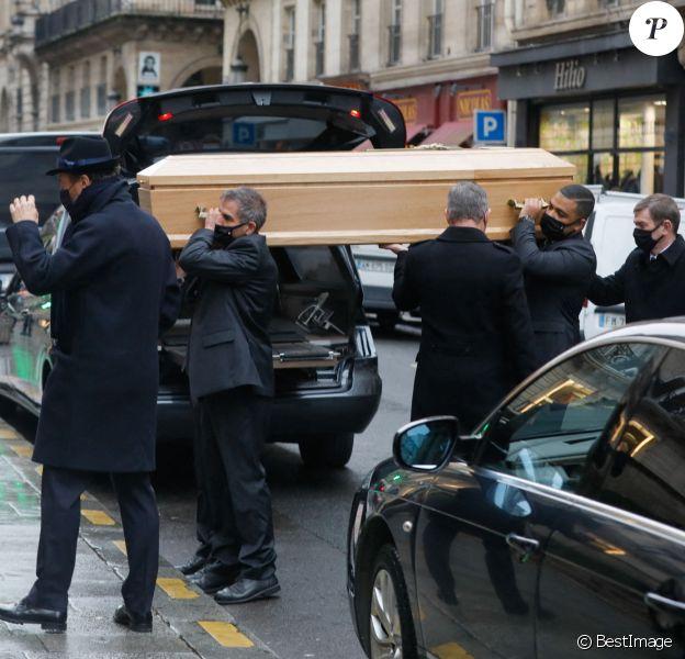Alexandre Brasseur - Obsèques de l'acteur Claude Brasseur en l'église Saint-Roch à Paris