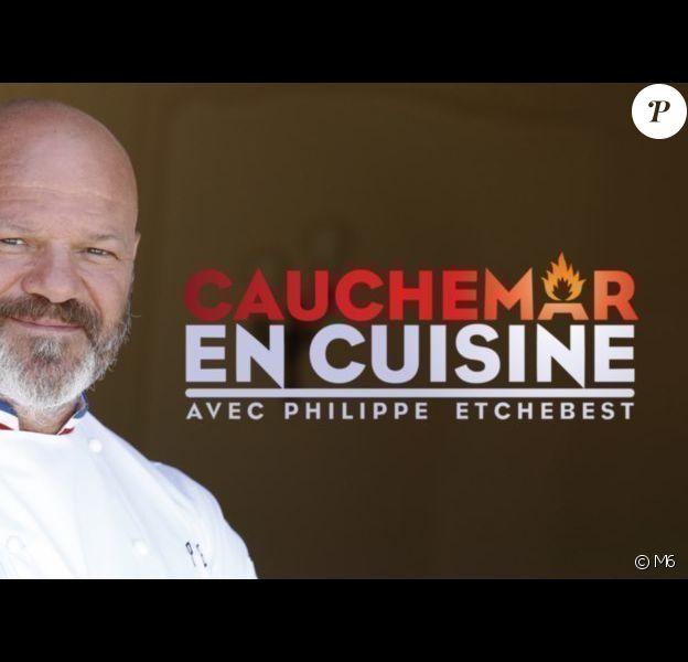 """Philippe Etchebest dans """"Cauchemar en cuisine"""" sur M6."""