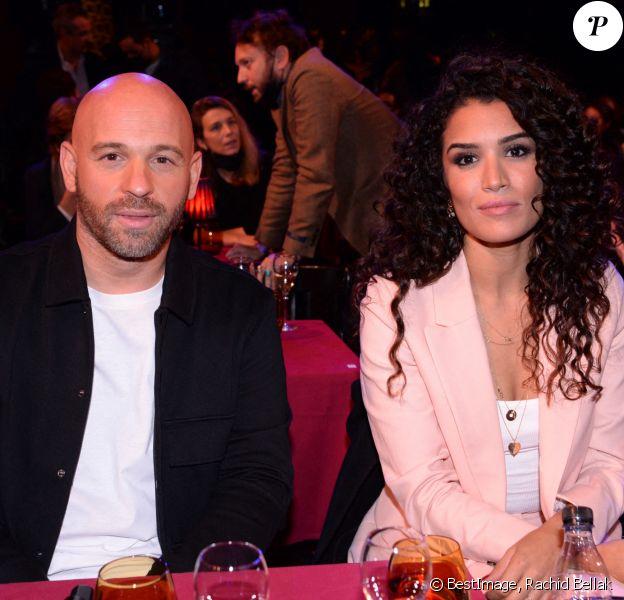 Franck Gastambide et Sabrina Ouazani - Soirée de gala du Jamel Comedie Club au Paradis Latin avec Canal+ à Paris. © RACHID BELLAK / BESTIMAGE