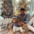 Hugo Philip avec son fils Marlon, le 23 décembre 2020