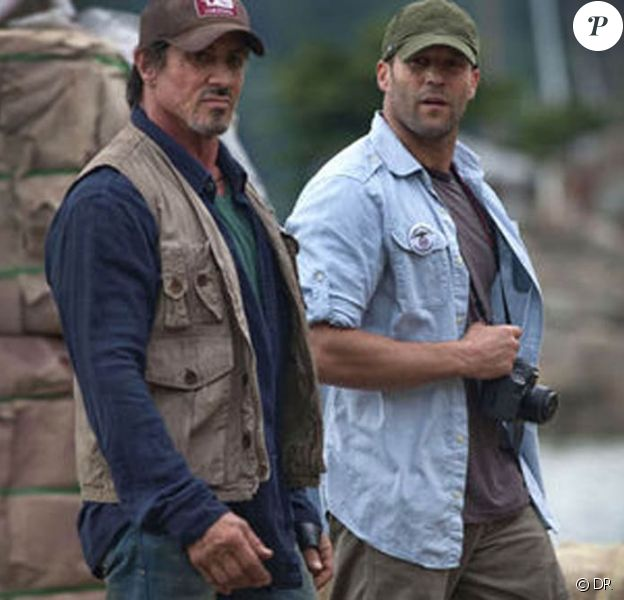 Des images de The Expendables !