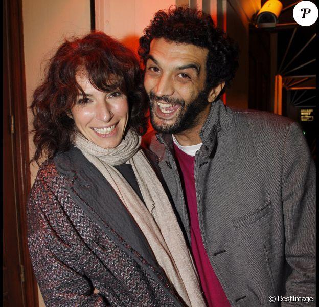 Ramzy et Anne Depetrini à Paris, un an avant leur séparation.