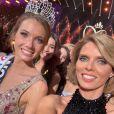 Sylvie Tellier et Amandine Petit sur Instagram, le soir de l'élection de Miss France. Le 20 décembre 2020.