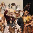 Anne Richard, Armande Altaï, valérie Damidot, Daniela Lumbroso et Coralie Clément au salon du chocolat (13 octobre 2009)