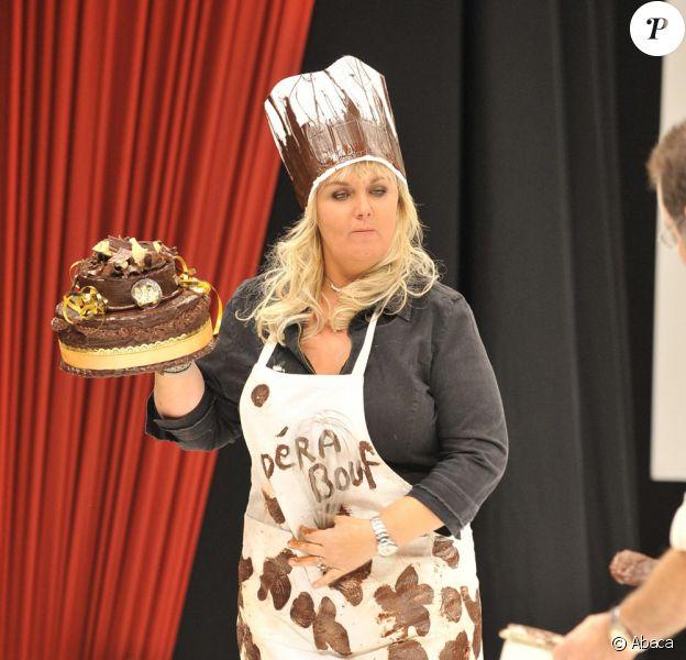Valérie Damidot au salon du chocolat (13 octobre 2009)