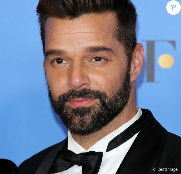 Ricky Martin lors de la press room de la 76e cérémonie annuelle des Golden Globe Awards au Beverly Hilton Hotel à Los Angeles,.