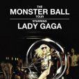 Lady Gaga, affiche du Monster Ball Tour, dont Kid Cudi assurera la première partie