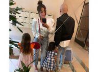 Amel Bent avec son mari : une invitée surprenante fascine leurs filles à la maison
