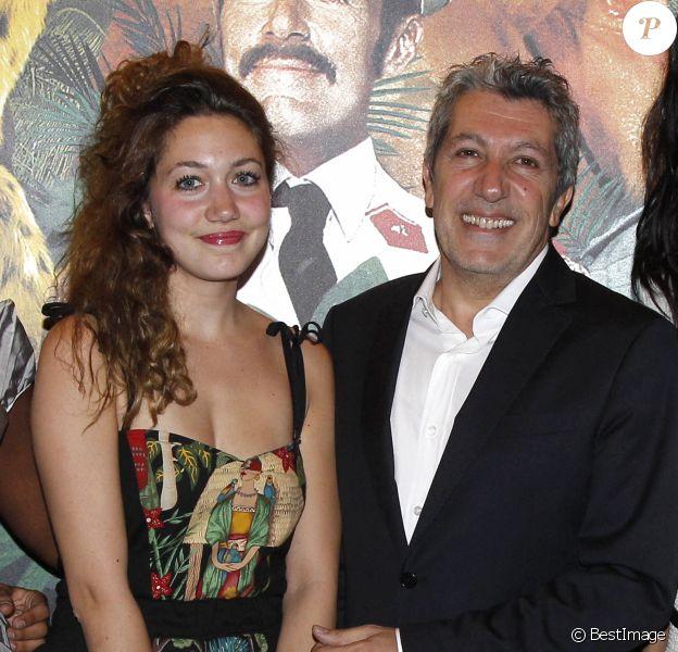 Alain Chabat et sa fille Louise - Avant-première de Marsupilami, à Paris