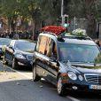 Les funérailles de Stephen Gately de Boyzone en l'église Saint Laurence O'Toole en Irlande le 17 octobre 2009