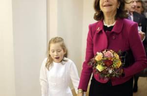 La reine Silvia de Suède... cette mère courage !